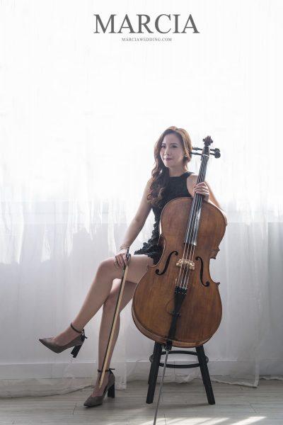 台南婚禮樂團推薦-大提琴,主持